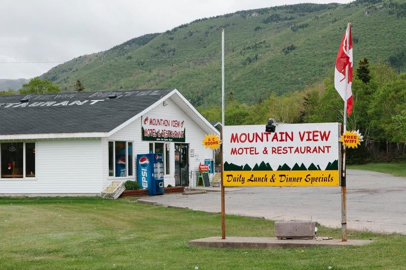 Mountainview Motel & Restaurant