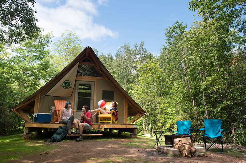 Broad Cove Campground Cape Breton Highlands National