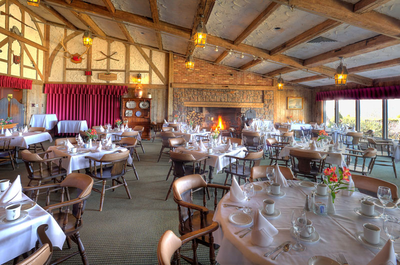 The Acadian Dining Room Restaurant At Old Orchard Inn