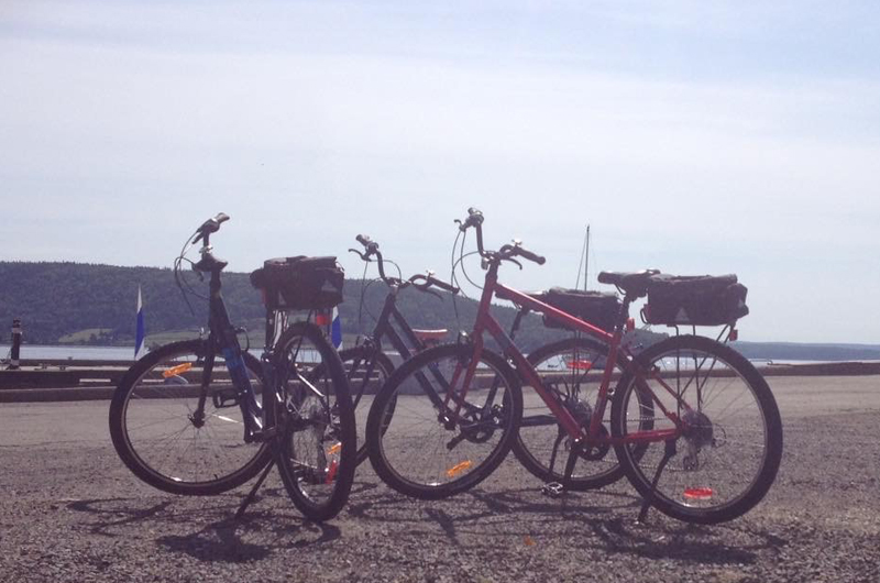 Pedallers by the Bay