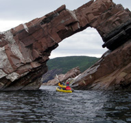 Admire the impressive geology of Cape Breton Island.