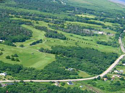 Aerial view of the Annapolis Royal Golf & Country Club