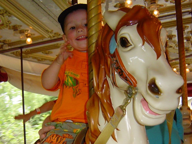 Carousel fun for the young and young at heart
