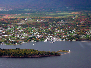 The town of Baddeck