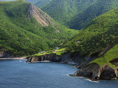 Cape Breton's northernmost community, Meat Cove