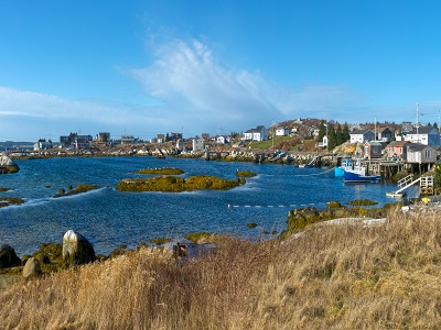 We visit many fishing villages, not just Peggys Cove.